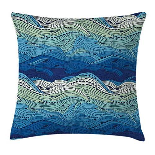 aquatic throw pillow cushion cover