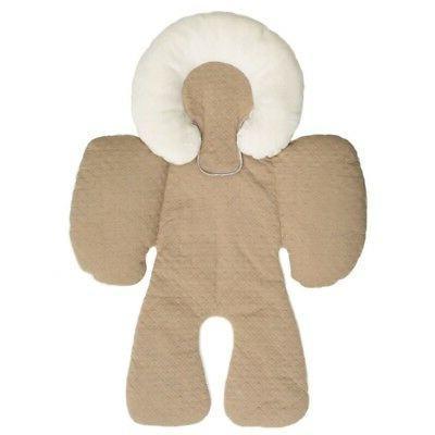 Baby Newborn Stroller Liner Mat Head Body Support Pillow