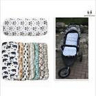 Baby Stroller Liner Reversible Car Seat Mat Pad Cushion 100%