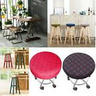 Bar Stool Covers Round Chair Seat Cover Cushions Sleeve Slip