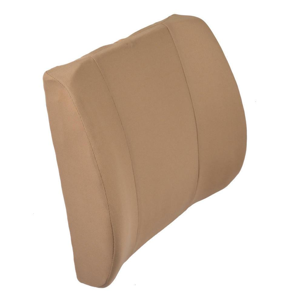 Beige Back Support Travel Foam Car Office Chair