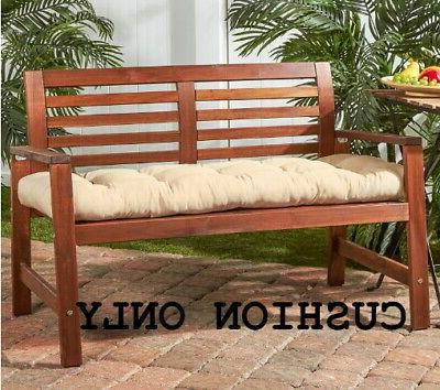 Bench Outdoor Swing Cushion Porch Glider 51 in. Chair Seat P