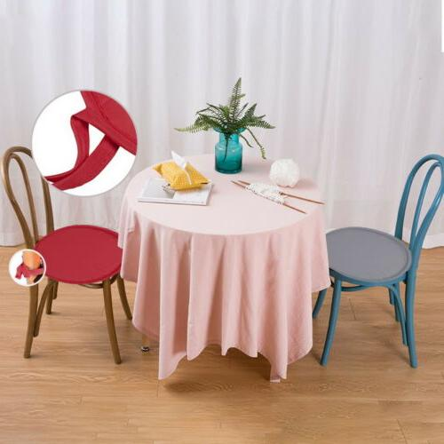 Circle Round Soft Seat Cushions Dining Cover US