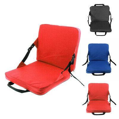 1Pcs Folding Stadium Chair Bleacher Cushion Sport Grandstand