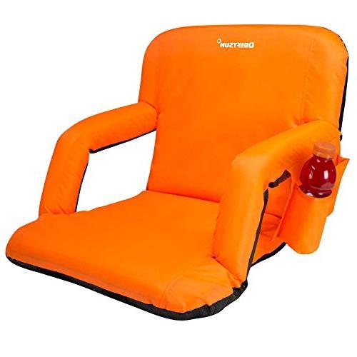 Bleacher Seats With Backs Black Stadium Chair Cushi