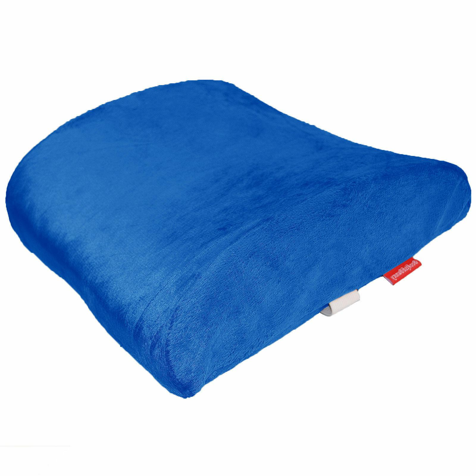 Blue Cushion Support Travel Memory Car Seat Home Chair