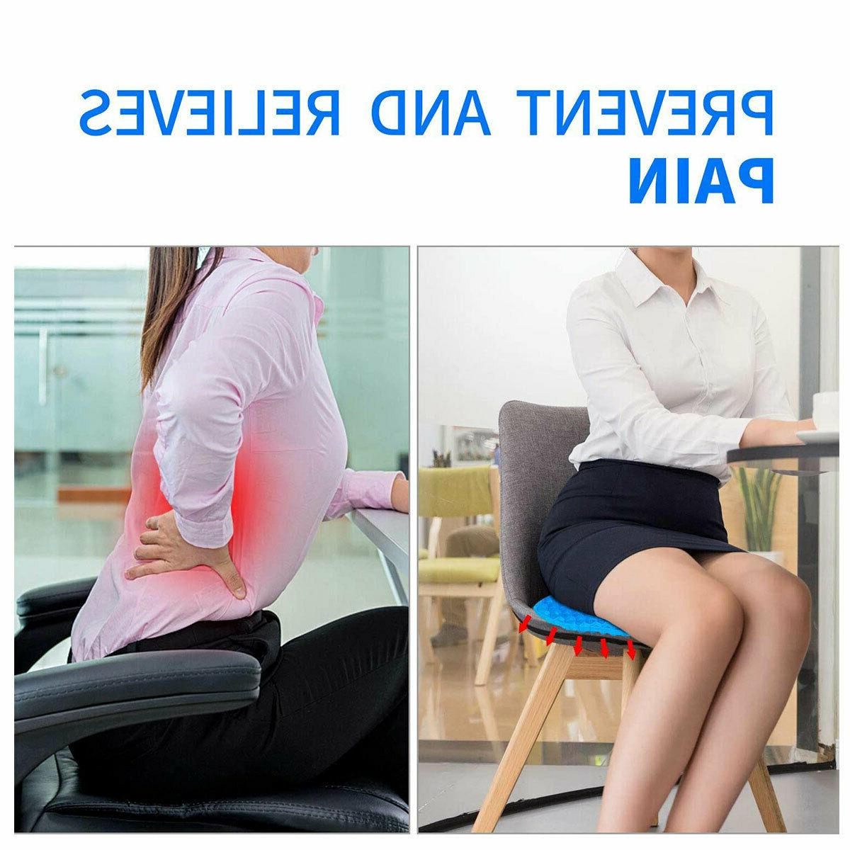 Breathable Cushion Seat Flex Back Support
