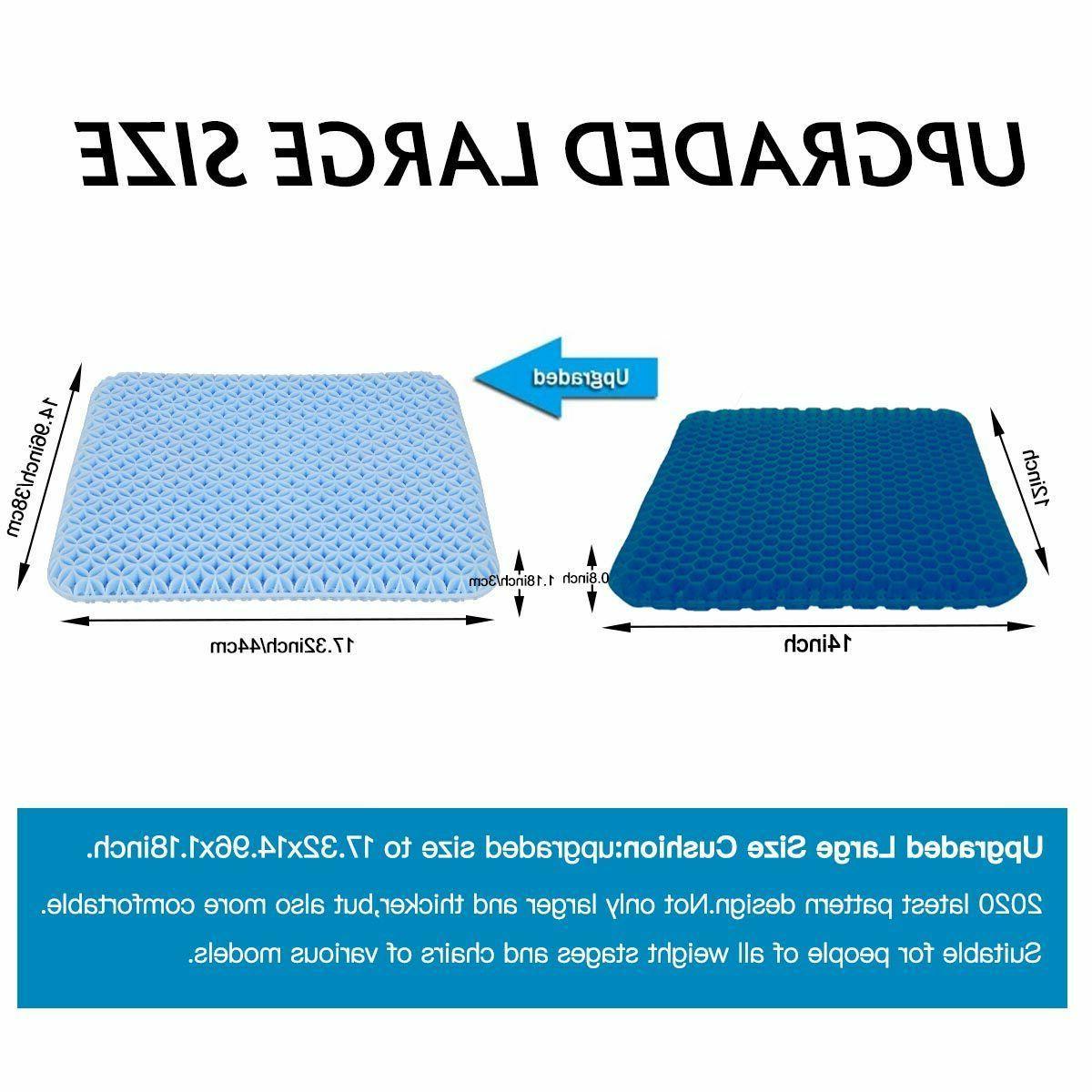 Breathable Egg Gel Seat Comfortable Egg Flex Pillow