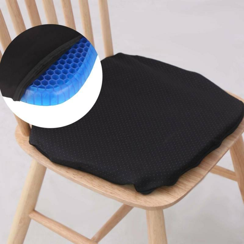 Comfortable Sitting Gel Flex Seat Flex Pillow Back