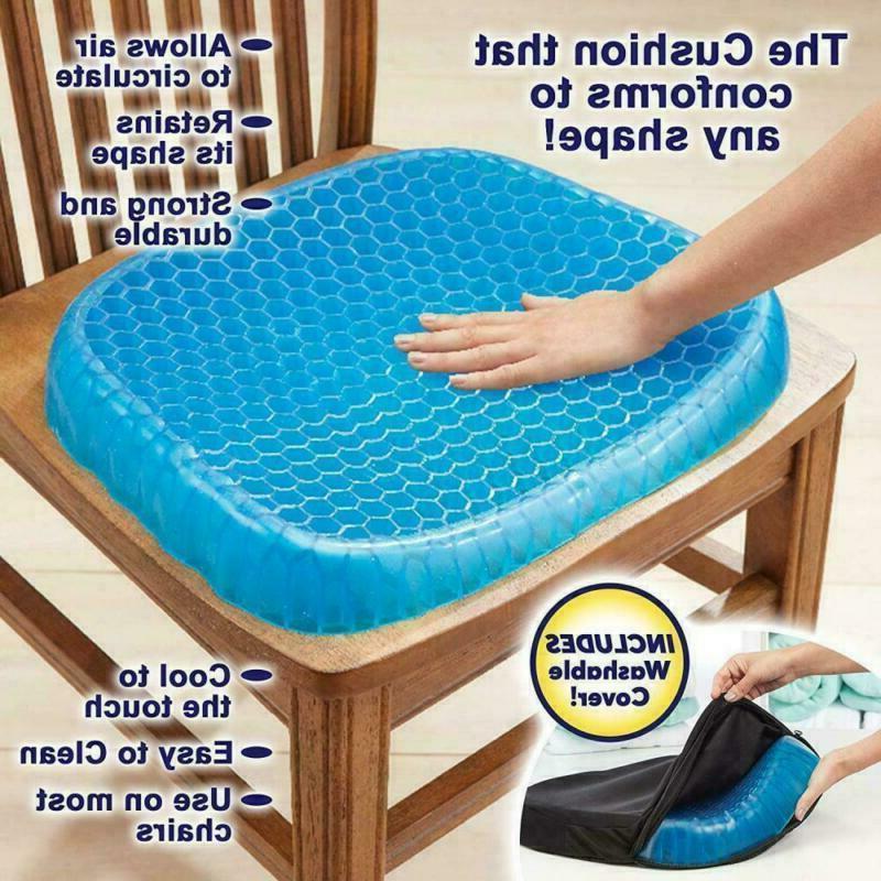 breathable egg sitting gel flexing cushion seat