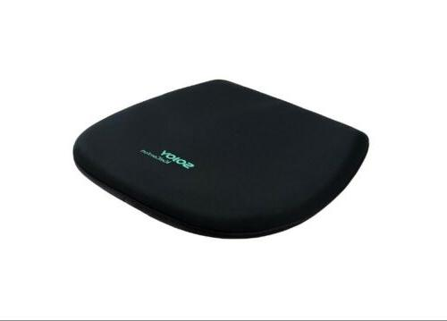 Sojoy breathable comfort gel seat Black 18x16x2in.
