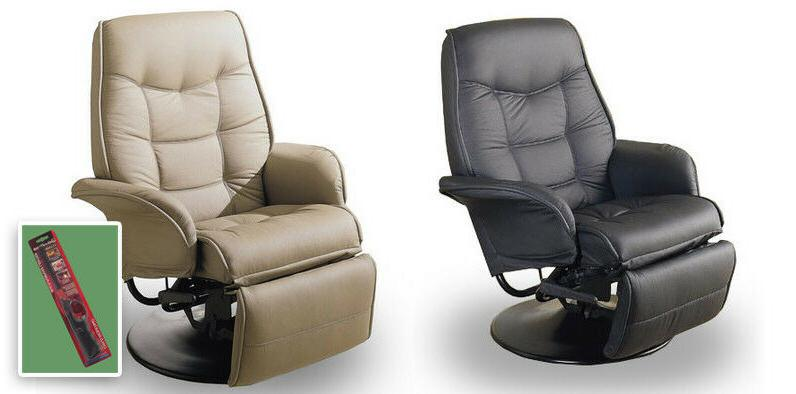 C9 TAN OR BLACK SWIVEL SEAT RECLINER CAPTAINS CHAIR RV TRAVE