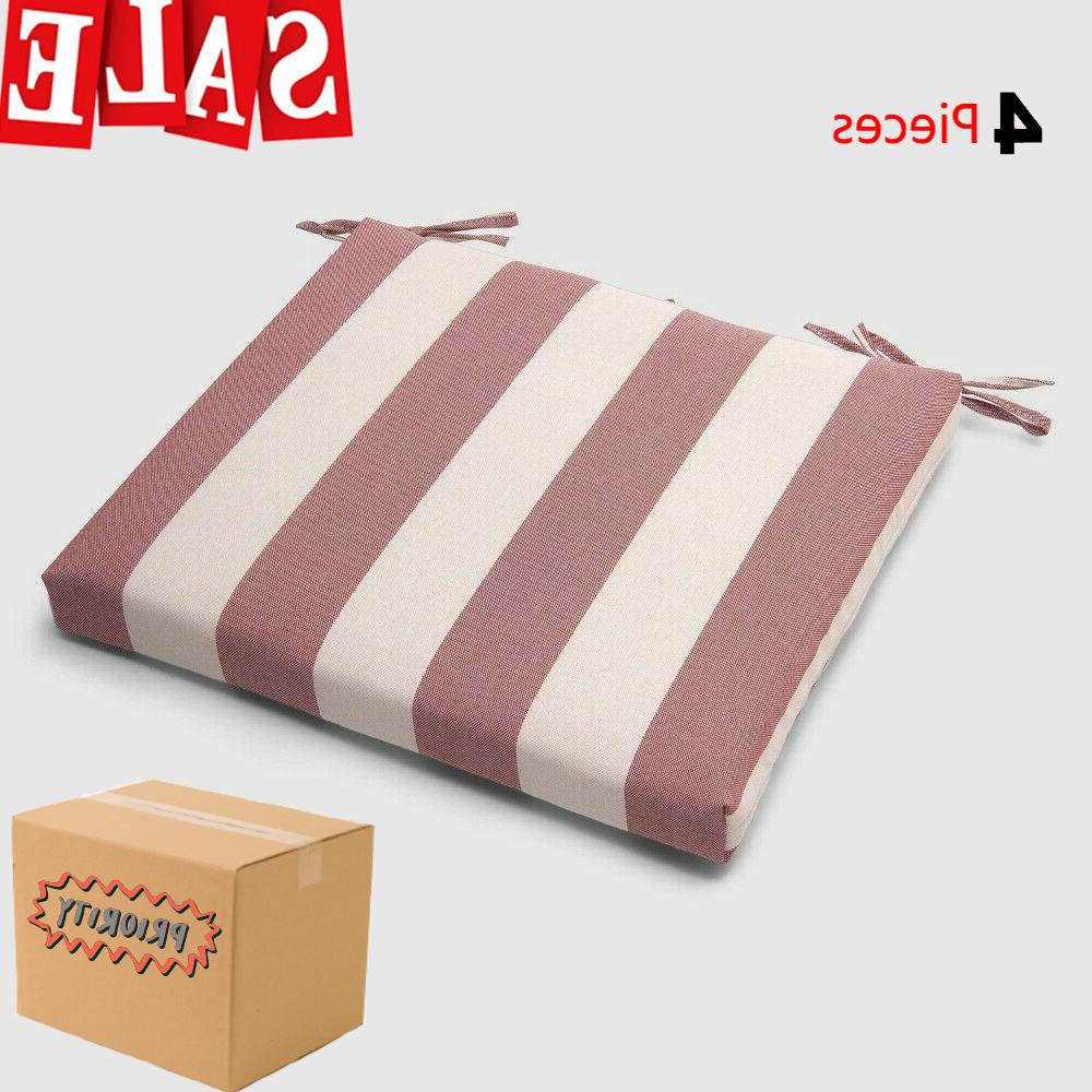 cabana stripe outdoor red seat cushion weather