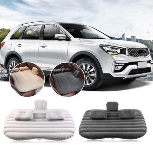 Car Air Bed Inflatable Mattress Back Seat Cushion For Travel
