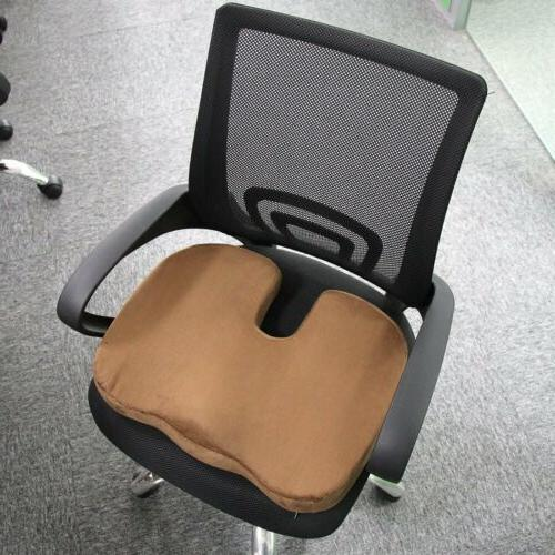 Car Chair Orthopedic Seat Pillow Sciatica Pain