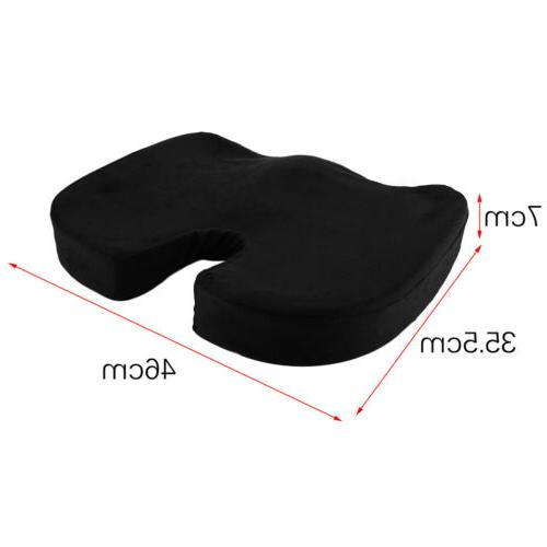 Car Orthopedic Office Seat Cushion Pillow Tailbone Sciatica Relief