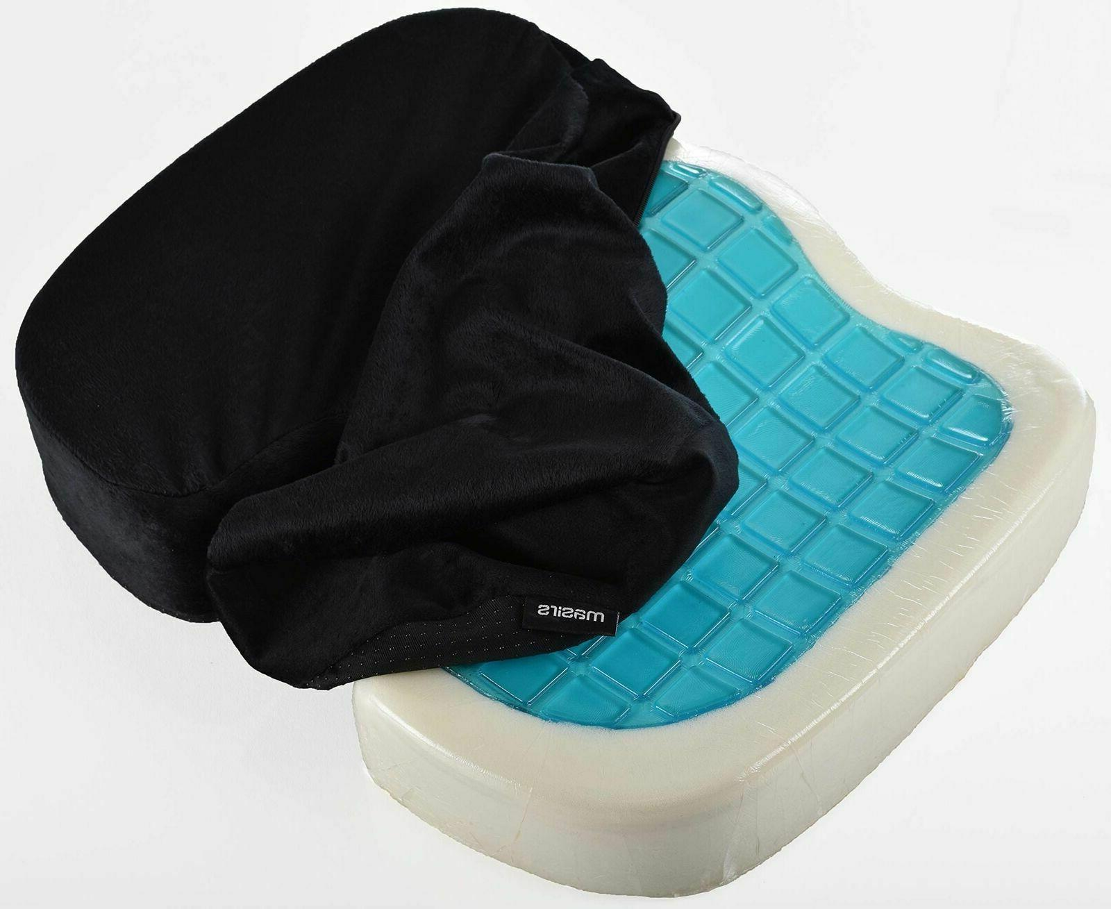 PERFECT Orthopedic Memory Gel Seat Cushion Office Car Home