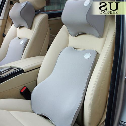 Car Seat Back Cushion Chair Lumbar