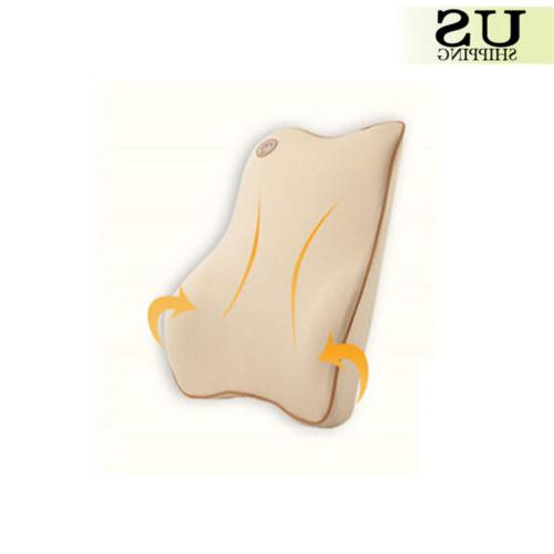 Car Seat Back Cushion Memory Breathable Chair Lumbar Pillow