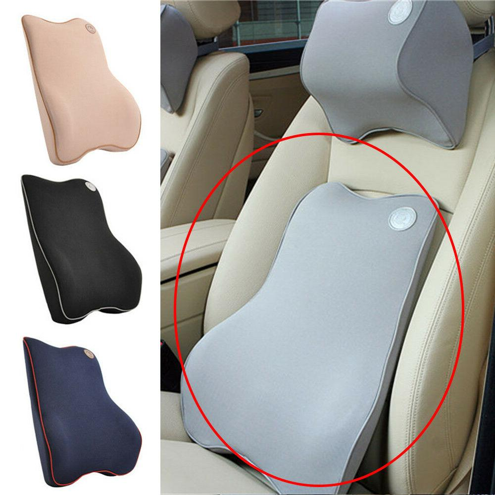 car seat back support cushion memory foam