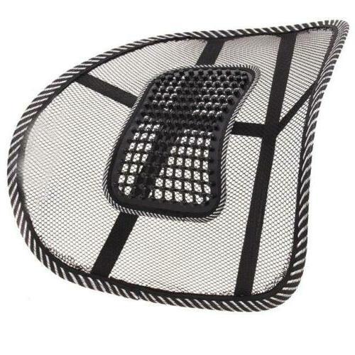 Car Office Chair Massage Back Mesh Cushion Pad