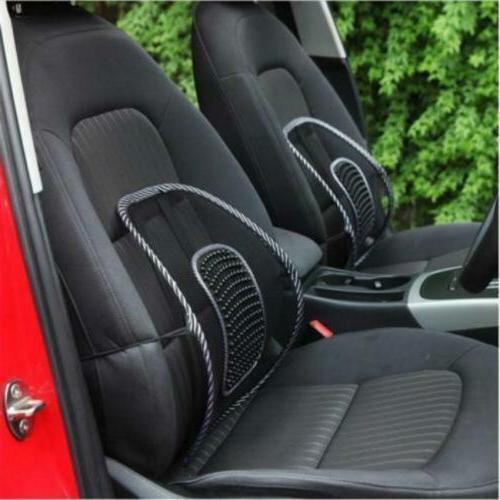 Car Office Seat Chair Massage Back Lumbar Support Mesh Cushi