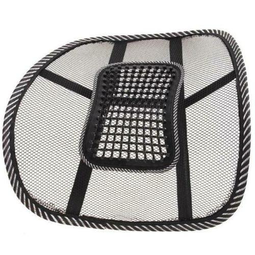 Car Massage Lumbar Support Mesh Cushion Pad Y2