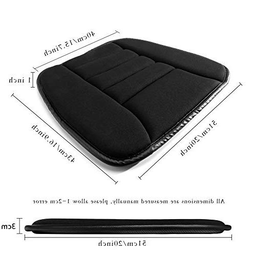 YSLYGHY Car Seat Cushion Pad Car Office Use Memory Seat Cushion