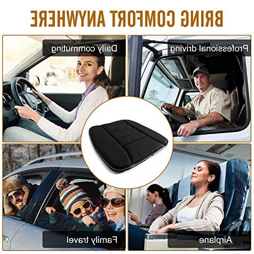 YSLYGHY Cushion Pad Car Seat Office Use Memory Foam