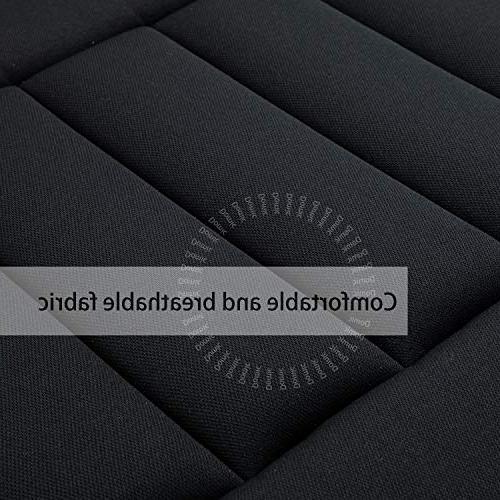Car Cushion Pad for Car Driver Memory Foam Cushion Black