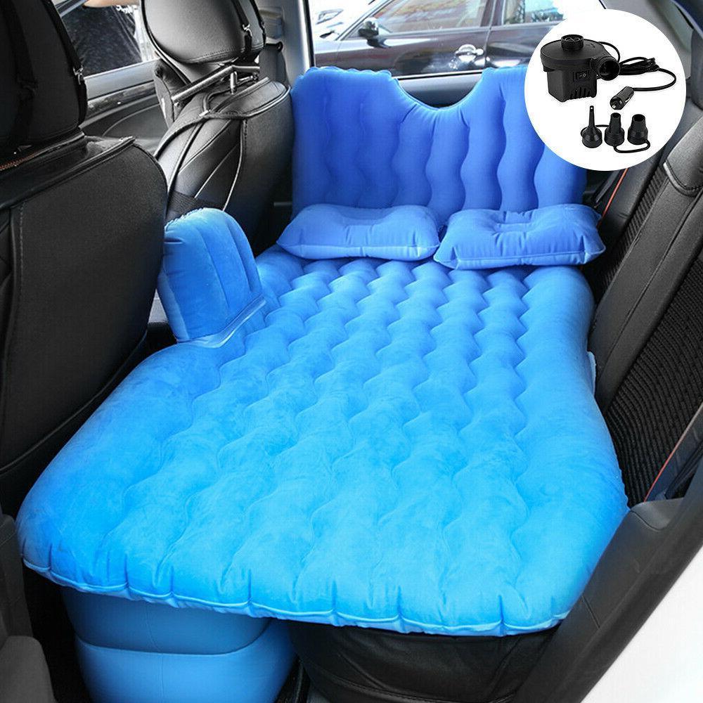 car travel inflatable air mattress cushion rest
