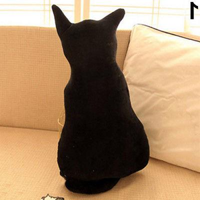 Cat Back Shadow Toy Sofa Pillow Seat Birthday