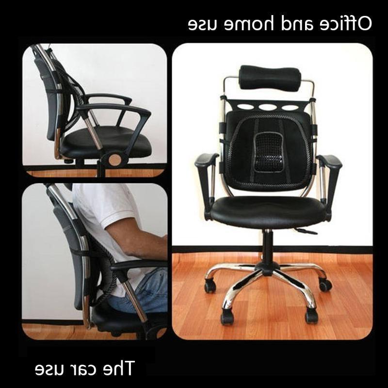 Chair Back Back Lumbar For <font><b>Car</b></font> Truck <font><b>Seat</b></font> Chair Cool 40 x 40cm