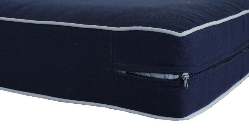 Bossima Chair Patio Deep Back Set Dining Navy