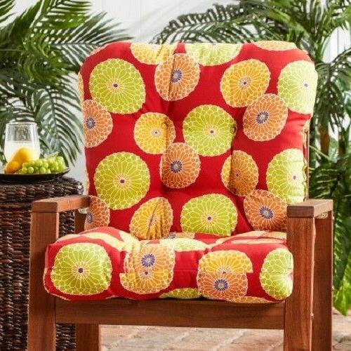 "Chair High Back Pads 42"" Kitchen Cushions"