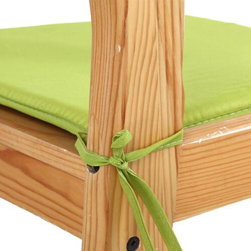 Chair Foam Seat Pad Tie-on Garden Decor