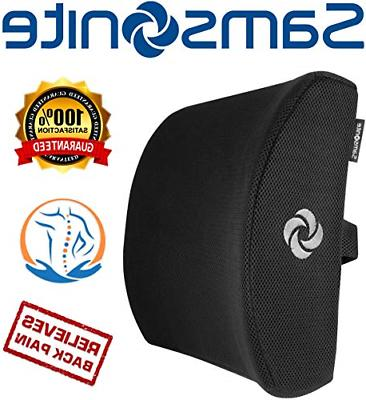 chair lumbar support memory foam pillow car