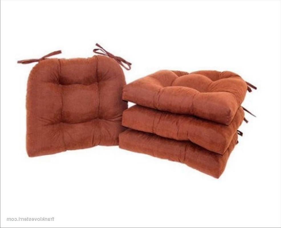 Chair Seat w/Ties 4-Pack