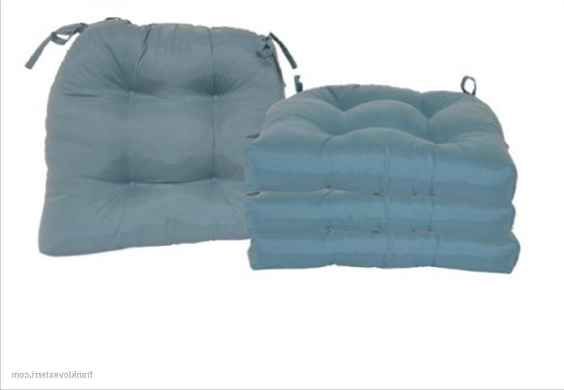 """Chair Seat Cushion 4-Pack 14.5"""""""