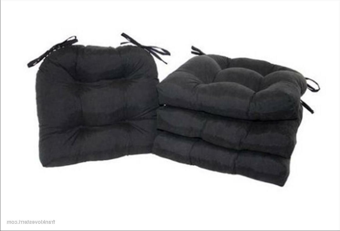 Chair Cushion w/Ties 4-Pack x