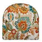 CHOOSE SIZE Outdoor U Shaped Patio Seat Chair Cushion Red Or