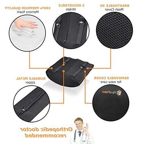 Memory Set | Non-Slip Bottom Breathable Mesh Cover | Non-Sliding |