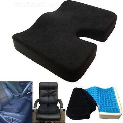 Coccyx Gel-enhanced Foam Car Pillow Cushion