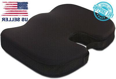 Orthopedic Memory Foam Chair Pad Car Seat Cushion for Back T