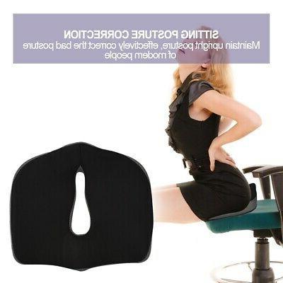 Coccyx Orthopedic Foam Seat Car Seat Cushion Lumbar US