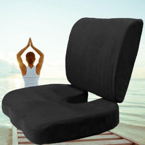coccyx orthopedic memory foam seat cushion offic