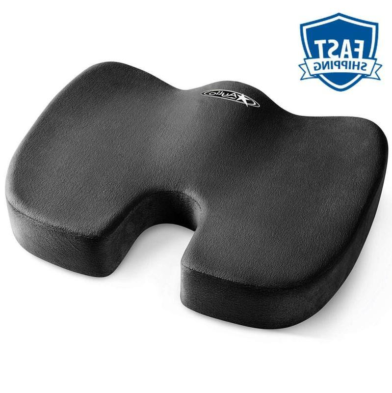 Aylio Coccyx Seat Cushion | Back Support, Tailbone Relief, W