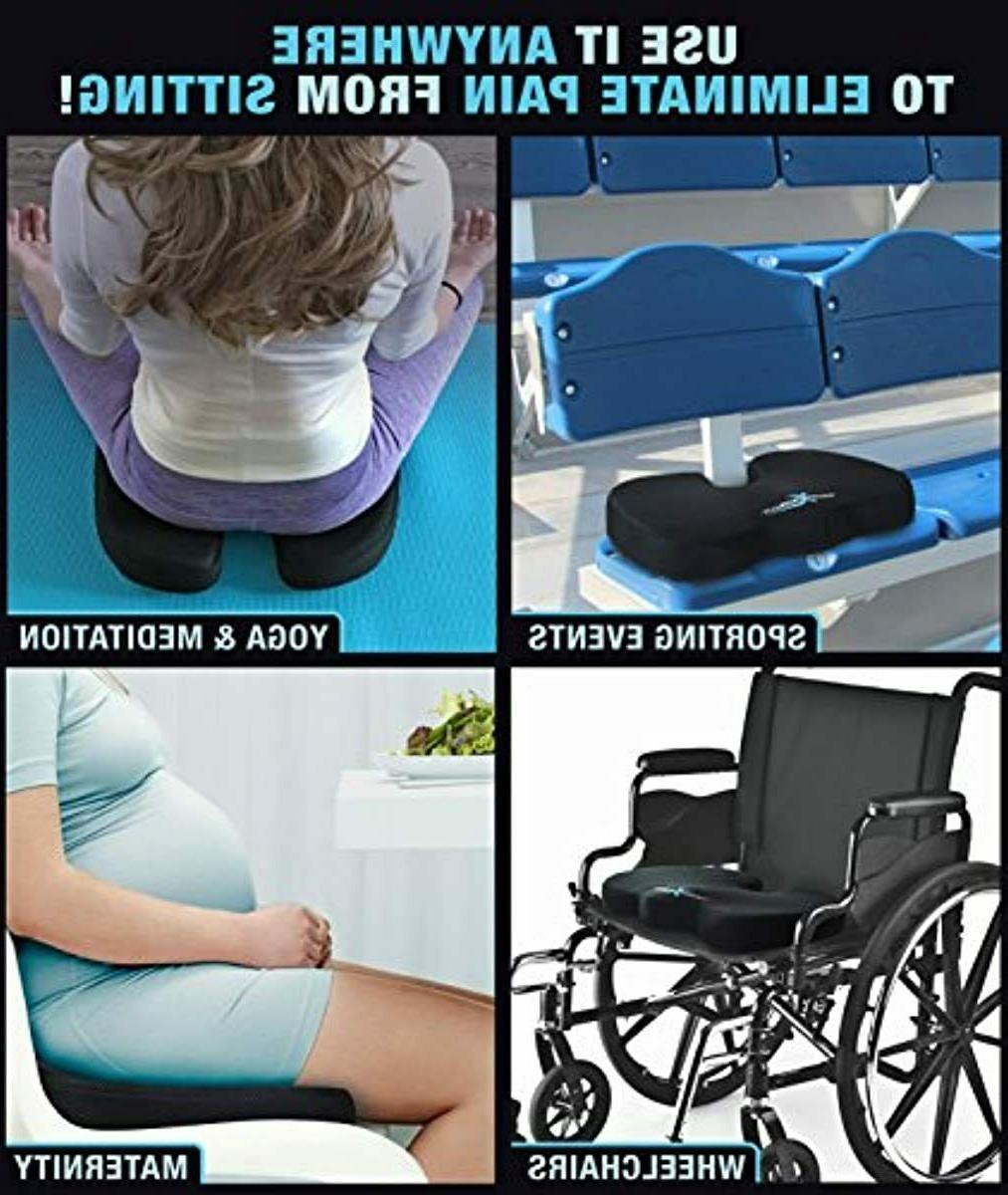Xtreme Comforts Cushion - Memory Pillow Sitting Easing