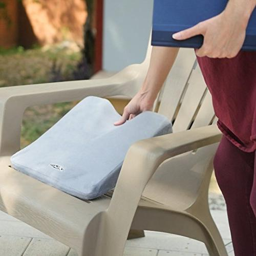 Aylio Coccyx Wedge Soft Comfort Cushion For Car