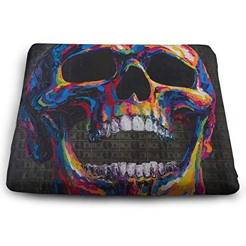 colorful skull 100 dollars removable